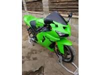 Kawasaki zx6r c1h 636 motorcycle