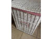Shabby Chic large Laundry basket