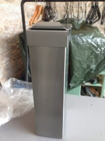 Stainless Steel Sani-Bins - New, Still Boxed (8 in total) WC