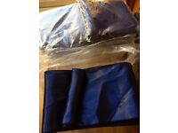 Navy blue satin chair sashes - 50 new & 50 used