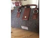Lovely Harris Tweed handbag, very good condition.