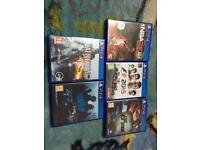 Ps4 games 10 Pounds Each