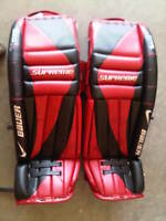 "36"" Bauer Supreme Pro Goalie Pads- ""Like New"""