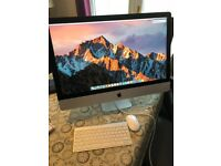 "iMac 27"" Late 2012 Model - Immaculate Condition with Box"
