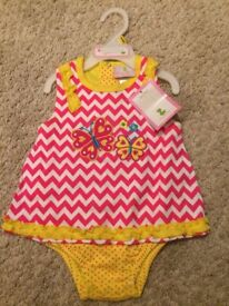 New With Tags! One piece Girl Outfit Size 6-9 Months - WILL POST FOR £2