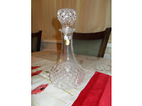 Wine decanter by Cristal Darques' *Beautiful condition*