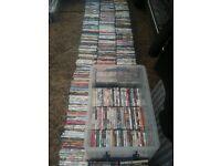 Dvd collection. Dvd job lot. Dvd bundle.