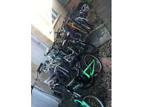 Bikes and spares , Raleigh etc job jot