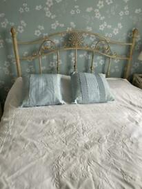 Traditional double bed frame