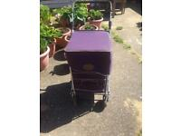 Genuine Sholley Trolley with matching bag