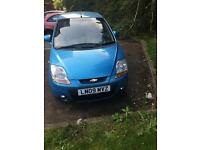 Chevrolete Matiz Se plus 2009, low millage, new mot with no advisory