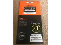 Spigen Tempered Glass Screen Protector for iPhone 7 Plus FREE Shipping UK Seller