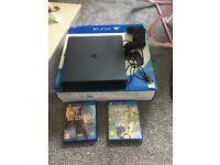 PS4 slim + games 1 weeks old unwanted gift