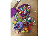 A collection of Kinder egg over 500 toys + sets