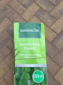 Electric pole pruner. Unused. Excellent condition.