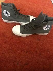 Grey Chuck Taylor II High Top Converse - UK size 6
