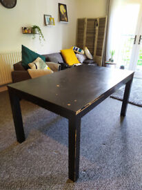Dining table extendable sits 6/8 people for upcycling (can deliver in Belfast)