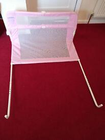 Lindam Bed Guard/Rail Pink