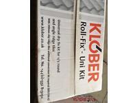 Klober dry ridge roofing system