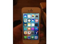 iPhone 5 16gb white unlocked