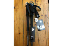 Brand New Black Diamond Vapor Carbon Ski Poles - 120cm - Open to offers