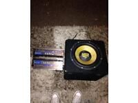 Car sound system with wiring kit