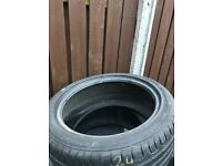 245 40 17 CONTINENTAL TYRE 4mm TREAD. £30!!!