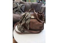Oasis Brown Handbag
