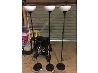 Ikea stand up lights. Full working order.