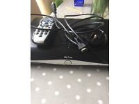 Sky+ HD box, cables and remote