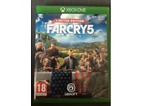 Far Cry 5 Limited edition (Xbox One)