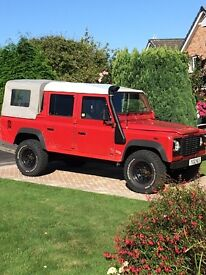 Landrover Defender TD5 Double Cab Pick up