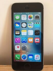 Apple iPhone 5S - 16GB - Space Grey - Locked on o2 - Excellent Condition + Charger