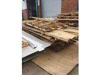 Pallets 3m and 3.6m long free to collect