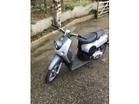 Mint hardly used rare benelli Pepe full mot the only one in uk