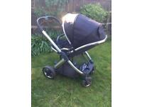 Black Oyster 2 Buggy Stroller & Accessories