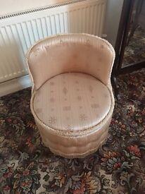 Vintage Lloyd loom stool