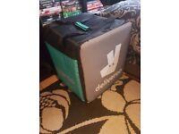 Deliveroo Food Bag & Jacket