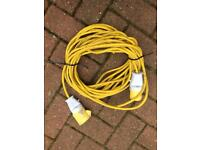 110v transformer 14m extension lead