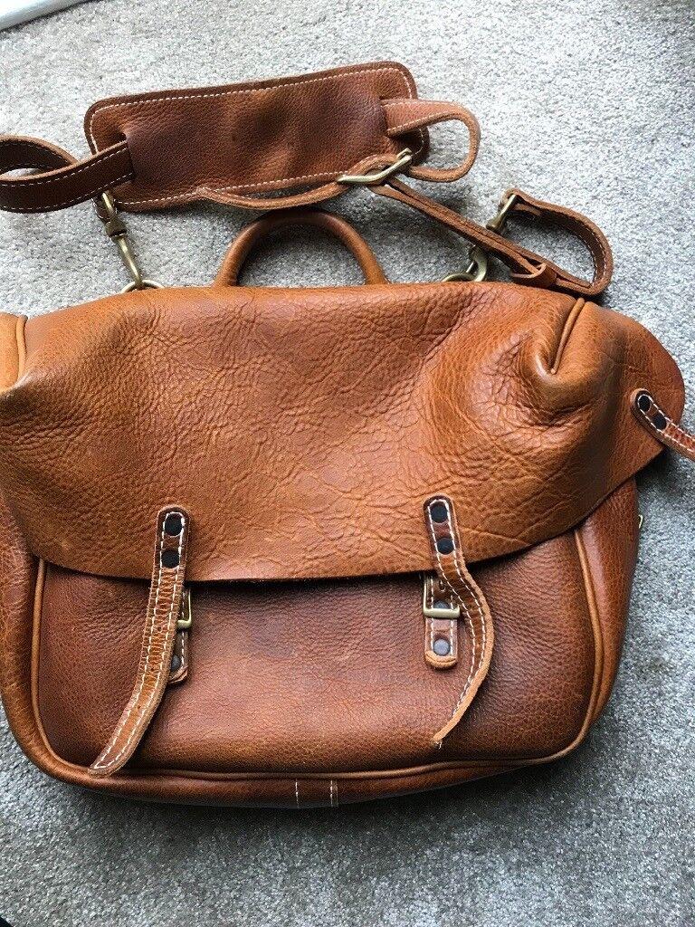 Yuketen mailman bag - peanut leather  7c5d825beebe5