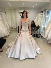 New Allure Couture C300 wedding dress size uk 6