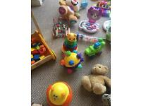 Toys 0-18 months
