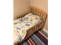 John lewis Anna Junior toddler bed - Birch