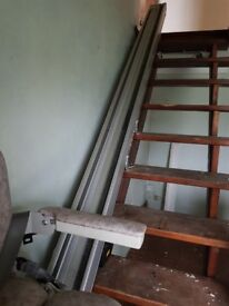 Stanna chair lift can been seen working. 07775662603