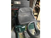 Hayter harrier 30 inch mower , ride on , collect or flail