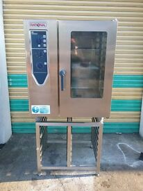 Rational Combi Oven 10 grid model CD101 excellent condition for restaurant