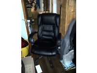 Used office Leather business chair