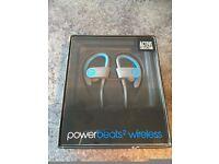 Power Beats by Dr Dre Wireless Headphones for sport etc