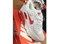Nike air max 90 wht/red 6,7,8,9,10,11