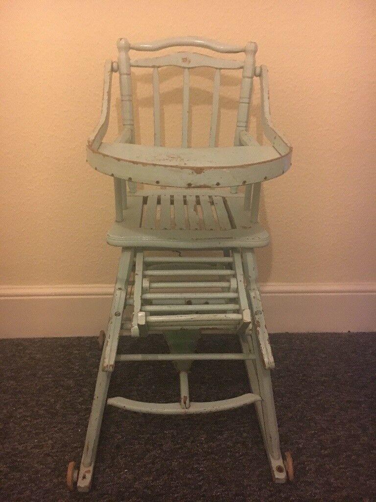 ba04c13782f0c Vintage High Chair urgent sale
